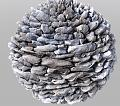 Clicca l'immagine per ingrandirla.  Nome: sfera di pietra da renderizzare.jpg Visualizzazioni: 68 Dimensione: 291.4 KB ID: 16180