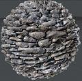 Clicca l'immagine per ingrandirla.  Nome: sfera di pietra da renderizzare giusta.jpg Visualizzazioni: 136 Dimensione: 456.2 KB ID: 16182