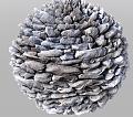 Clicca l'immagine per ingrandirla.  Nome: sfera di pietra da renderizzare.jpg Visualizzazioni: 151 Dimensione: 291.4 KB ID: 16180